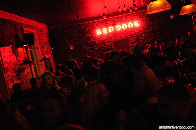 Red Door Liverpool 21 23 Berry Street A Night In Liverpool